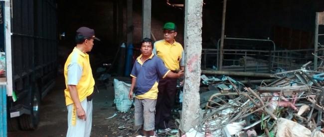 Pembinaan Kamtibmas Kepada Pemilik Gudang Rongsok di Kalikajar