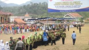 pengamanan LSS di SD Jebengplamitan