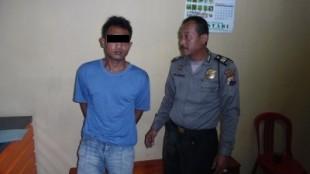 BELUM MENIKMATI HASIL PENCURIAN SUDAH TERTANGKAP POLISI