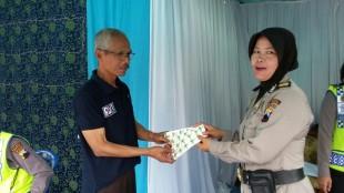 Obat-obatan dan peralatan PPGD disiapkan di Pos Pam Wonosobo