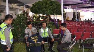 kesehatan, Paurkes Polres Wonosobo cek kesehatan Anggota Pengamanan