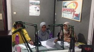 Rangkaian Kegiatan Hari Ibu di siarkan di Radio