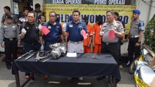 Press Release pengungkapan jaringan curanmor