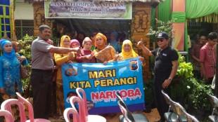 Operasi bersinar candi 2016 Polres Wonosobo : KTW Dukung Wonosobo bebas narkoba
