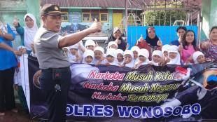 Kasbin Kampanye Anti Narkoba di TK