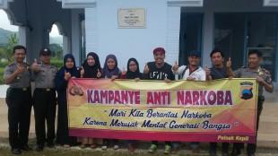 Warga Malaysia ikut Kampanye Anti Narkoba