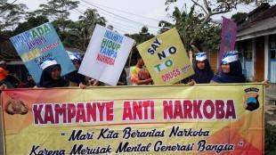 Sukarelawati Pelajar dalam Kampanye Anti Narkoba