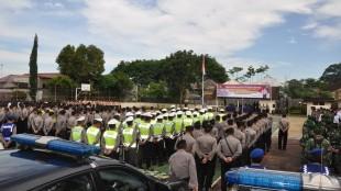Gelar Pasukan Operasi Ramadniya Candi 2016 Polres Wonosobo