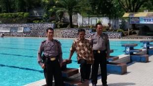 Ka SPKT patroli ke lokasi wisata Kolam Renang