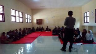 Penyuluhan di SMP N 4 Wonosobo