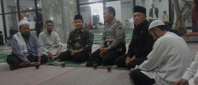 PAM Pengajian di Masjid Jami' Wonosobo.