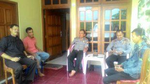Kapolsek Wadaslintang Polres Wonosobo Bersama Anggota
