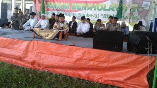 Wakapolsek Wonosobo menghadiri acara Ansor Bersolawat