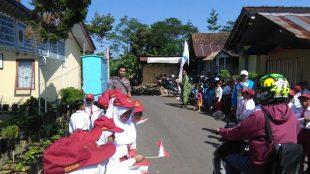 Bripka Sukamto pengamanan antisipasi warga