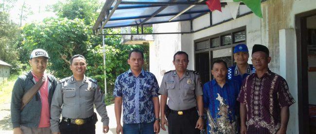 Patroli Polsek Sapuran Polres Wonosobo patroli dialogis menjelang Pemilihan Umum Kepala Daerah Tahun 2018