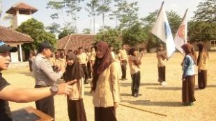 lat upacara sertijab osis
