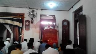 Kasat Binmas Polres Wonosobo menjadi Khotib di masjid Al -Iʿtikāf Jaraksari Kab. Wonosobo