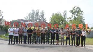 Kapolres bersama elemen masyarakat Wonosobo lawan terorisme