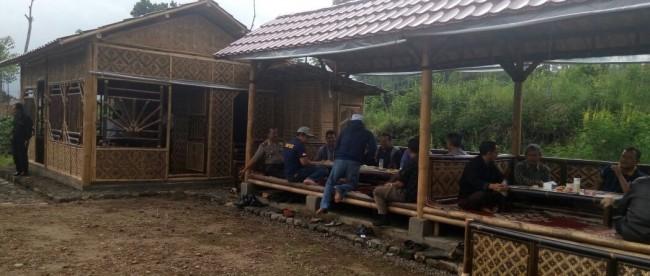 Peresmian Kedai Kopi Untuk Rest Area Desa Kapencar kertek Wonosobo