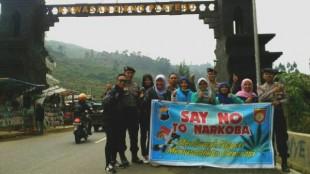 Kampanye Anti Narkoba Kepada Wisatawan Dieng