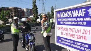 Operasi Patuh Candi 2016, Satlantas gelar razia kendaraan