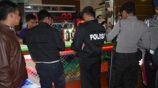 Tim Libas Pekat Razia tempat karaoke di Wonosobo