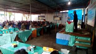 Kasi Humas hadiri penyampaian visi dan misi calon Kepala Desa Wonosari