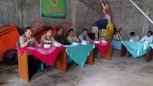 Kapolsek Menhadiri Pengundian Nomor Calon Kepala Desa Wonosari.