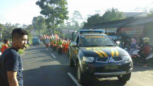 Pengawalan Peserta Karnaval