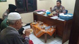 Kapolres Wonosobo AKBP Muhammad Ridwan,S.I.K buka bersama di Polsek kalikajar