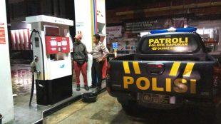 Bripka Budi Andi Triyanto mengingatkan kepada petugas SPBU supaya selalu hati hati dan meningkatkan kewaspadaan serta Open kepada setiap pembeli yang datang. untuk menjaga hal-hal yang tidak di inginkan terjadi